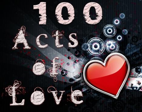 100actsoflove